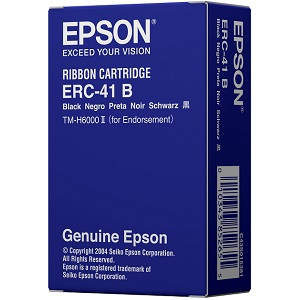 Epson ERC-41 Black Ribbon Cartridge