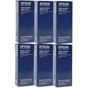 Epson ERC-27 Black Ribbon Cartridges