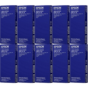 Epson ERC-31 Black Ribbon Cartridges