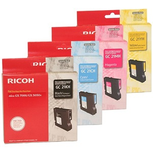 Ricoh GC21 High Yield Ink Cartridge Set