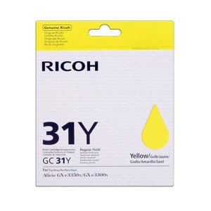 Ricoh 405691 Yellow Print Cartridge