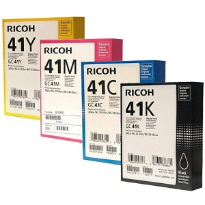 Ricoh GC41 Ink Cartridge Set