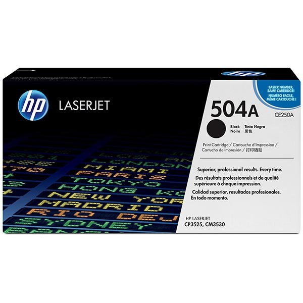 HP CE250AG Black Toner Cartridge for US Government