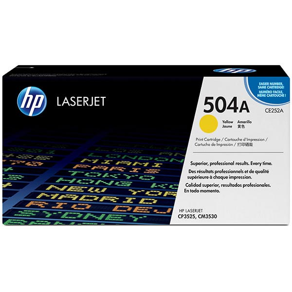 HP CE252AG Yellow Toner Cartridge for US Government