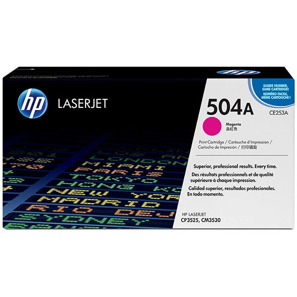 HP CE253AG Magenta Toner Cartridge for US Government