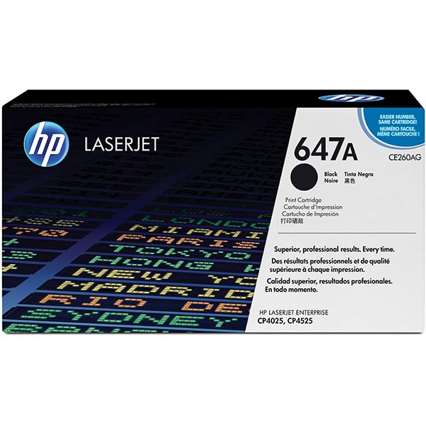 HP CE260AG Black Toner Cartridge for US Government