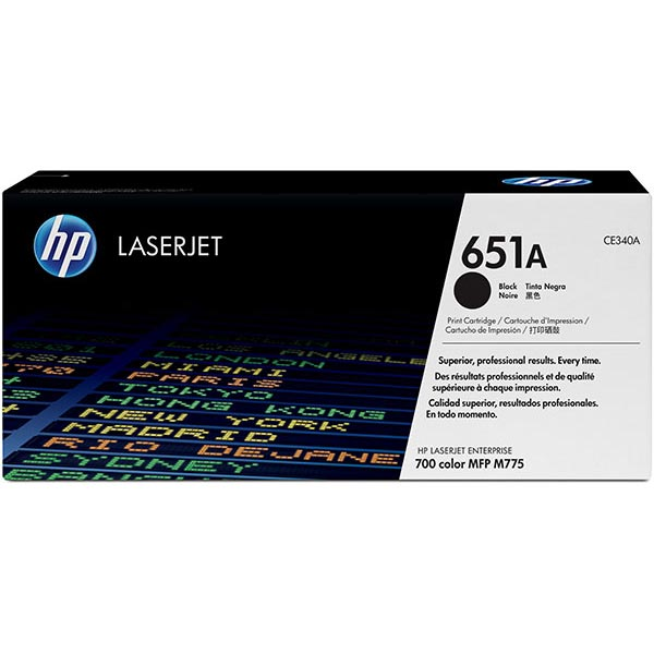HP CE340AG Black Toner Cartridge for US Government