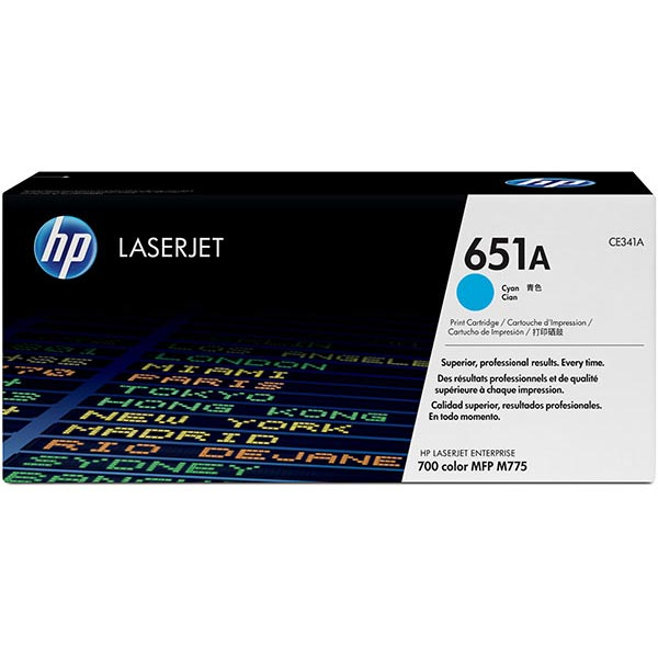 HP CE341AG Cyan Toner Cartridge for US Government