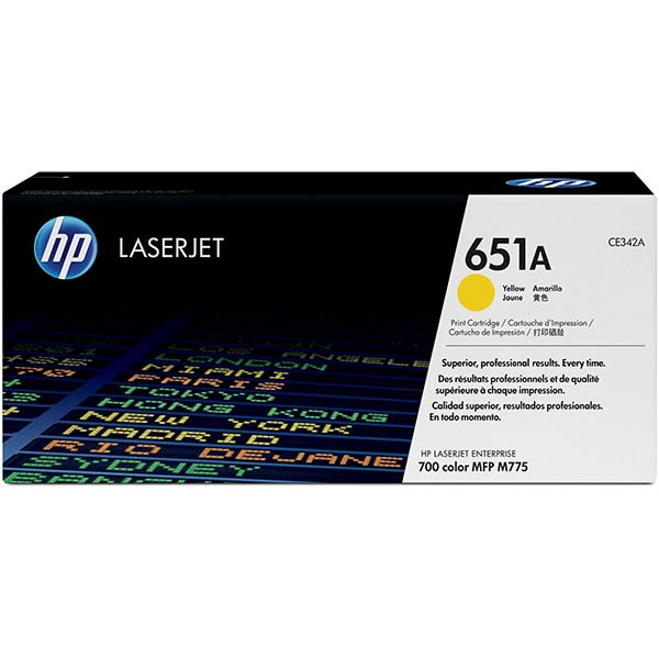 HP CE342AG Yellow Toner Cartridge for US Government