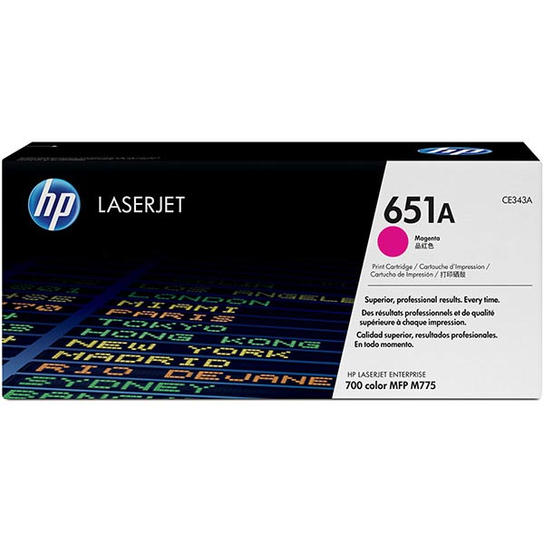 HP CE343AG Magenta Toner Cartridge for US Government