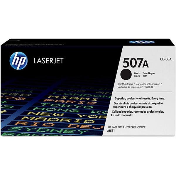 HP CE400AG Black Toner Cartridge for US Government