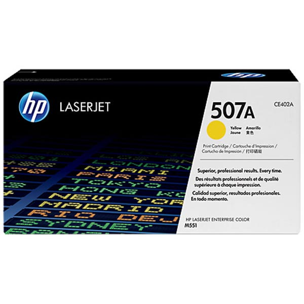HP CE402AG Yellow Toner Cartridge for US Government