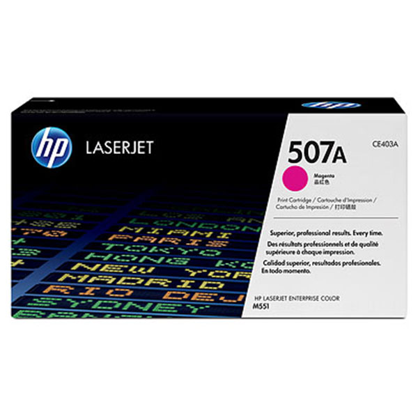 HP CE403AG Magenta Toner Cartridge for US Government