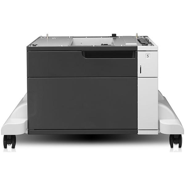 HP CF243A 500-Sheet Feeder with Cabinet and Stand