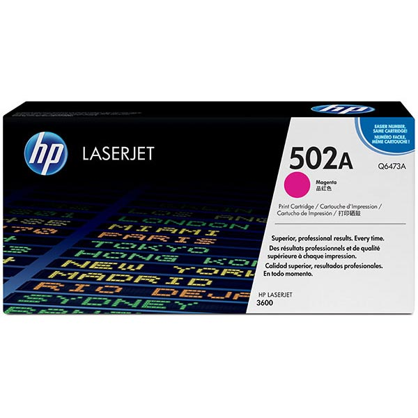 HP Q6473AG Magenta Toner Cartridge for US Government
