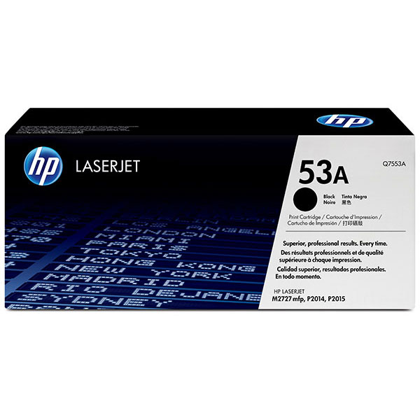HP Q7553AG Black Toner Cartridge for US Government