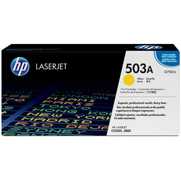 HP Q7582AG Yellow Toner Cartridge for US Government