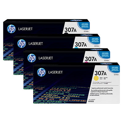 HP 307 Toner Cartridge Set