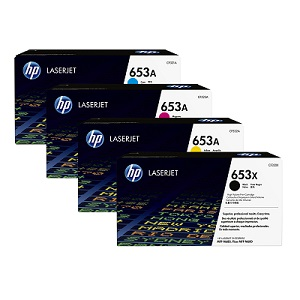 HP 653 Toner Cartridge Set