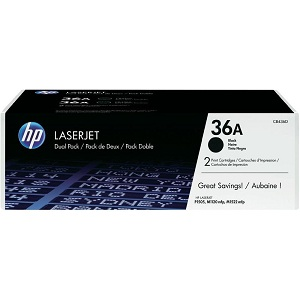 HP CB435AD Black Toner Cartridge Dual Pack