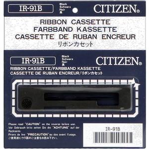Citizen IR-91B Black Printer Ribbon