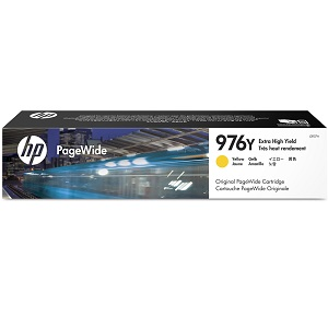 HP L0R07A Yellow Ink Cartridge