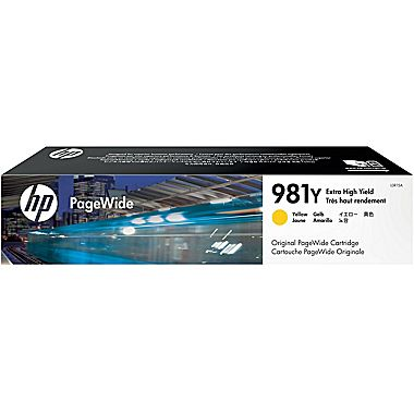 HP L0R15A Yellow Ink Cartridge