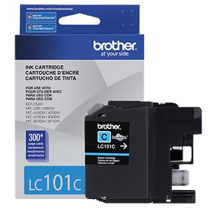 Brother LC101C Cyan Ink Cartridge