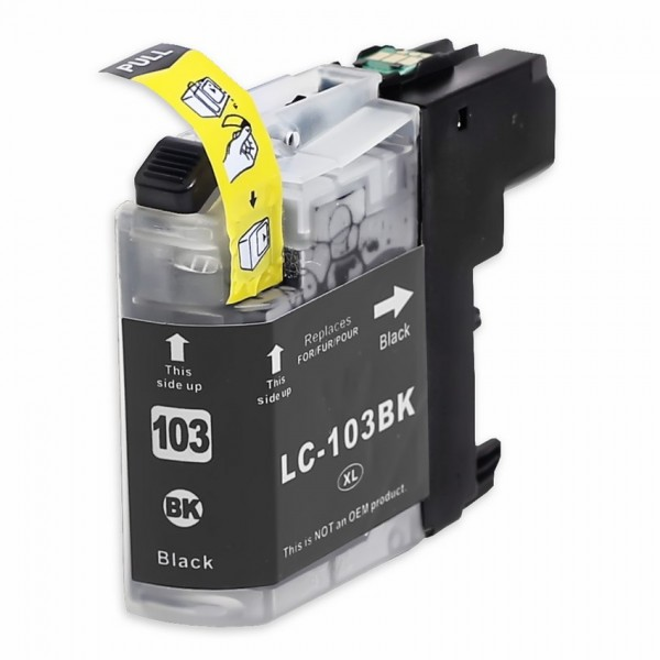 Compatible Brother LC103BK Black Ink Cartridge