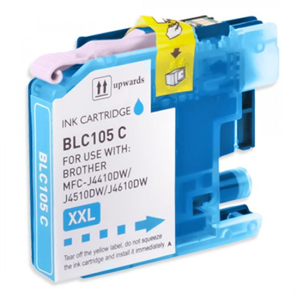 Compatible Brother LC105C Cyan Ink Cartridge