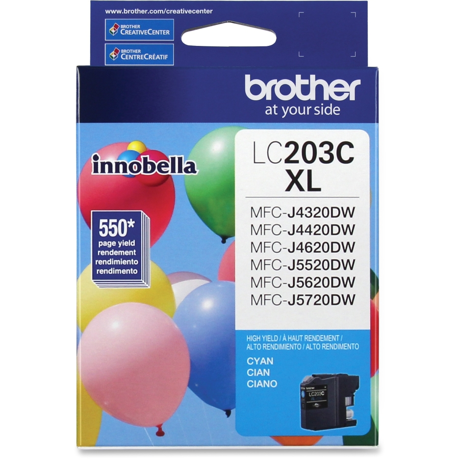 Brother LC203C Cyan Ink Cartridge