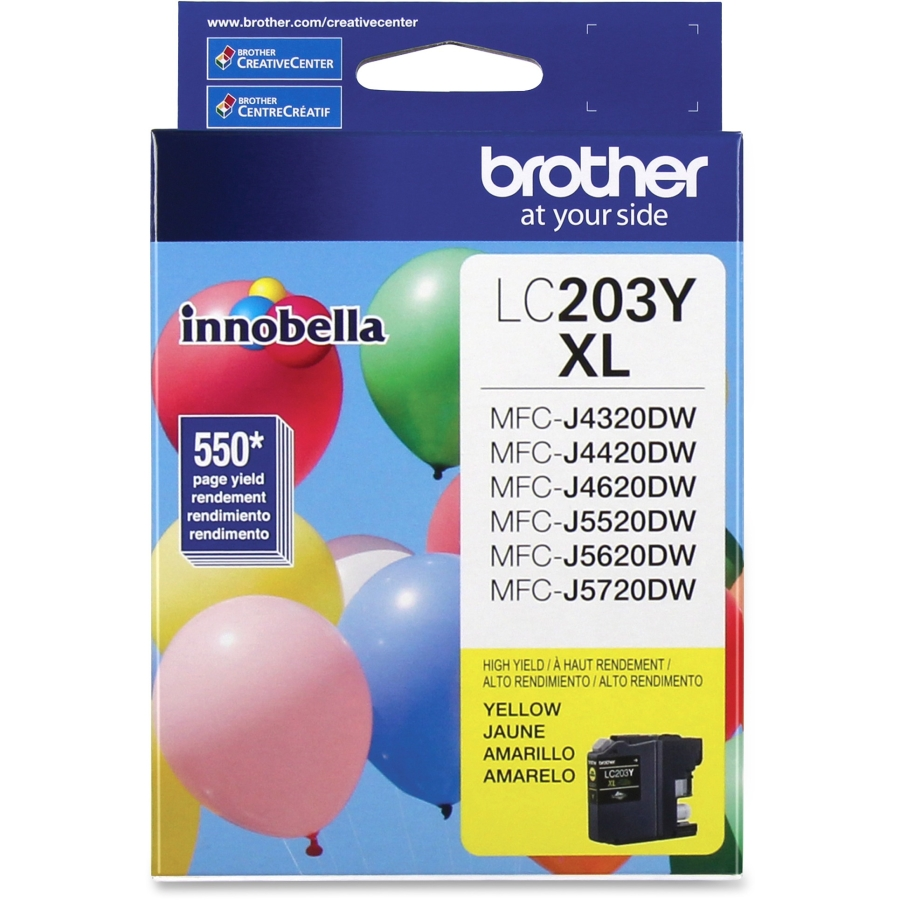 Brother LC203Y Yellow Ink Cartridge