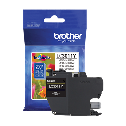 Brother LC3011Y Yellow Ink Cartridge