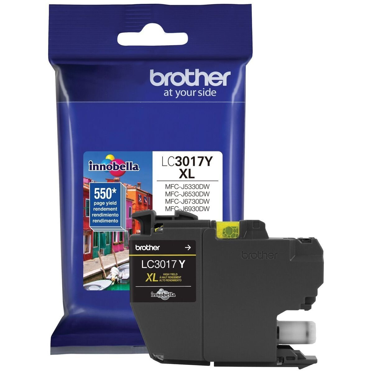 Brother LC3017Y Yellow Ink Cartridge