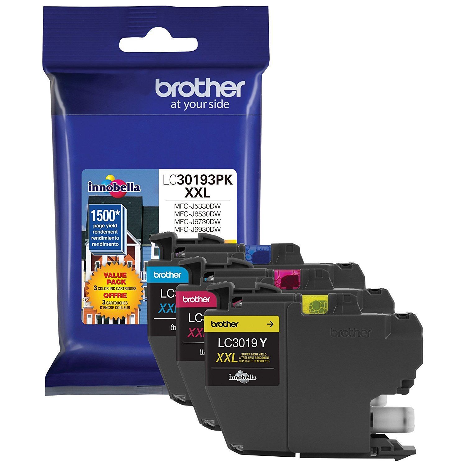 Brother LC30193PK Value Pack