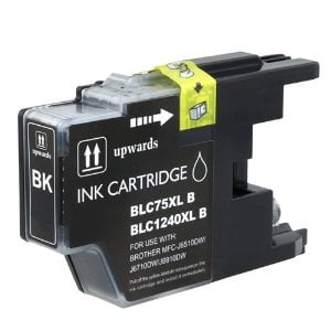 Compatible Brother LC75BK Black Ink Cartridge
