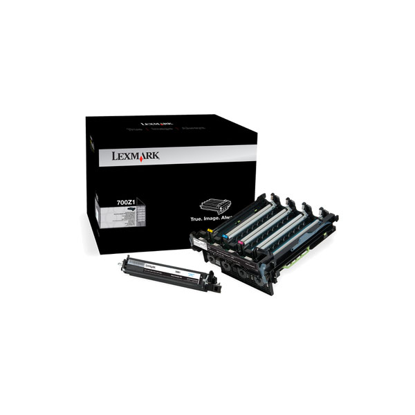 Lexmark 70C0Z1G Black Imaging Kit for US Government