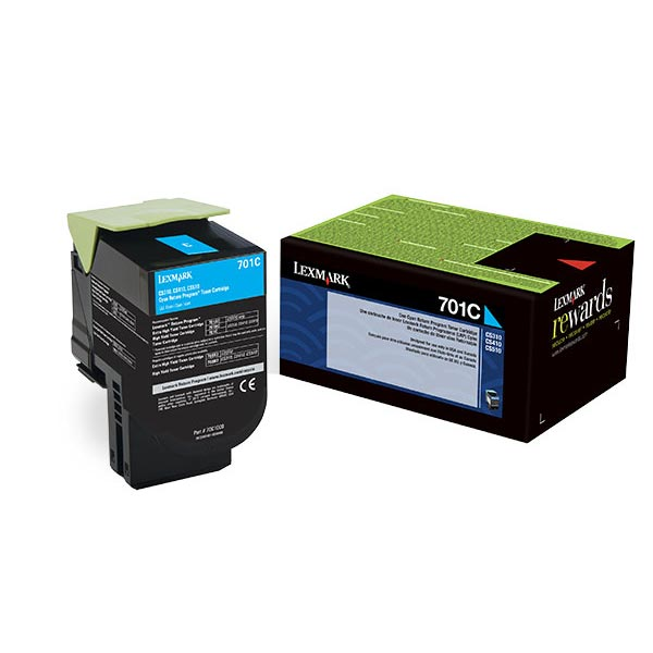 Lexmark 70C00CG Cyan Toner Cartridge for US Government