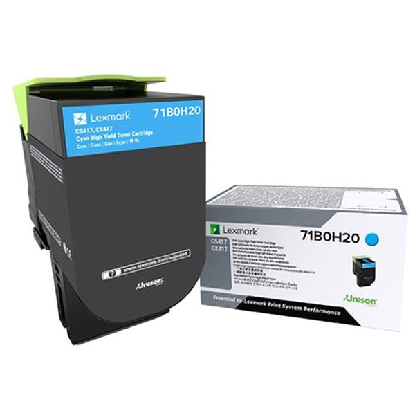Lexmark 71B0H20 Cyan Toner Cartridge