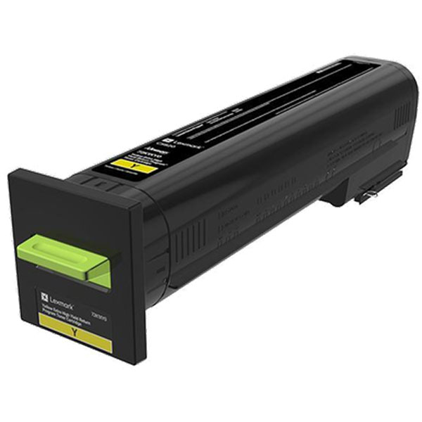 Lexmark 72K0XYG Yellow Toner Cartridge for US Government