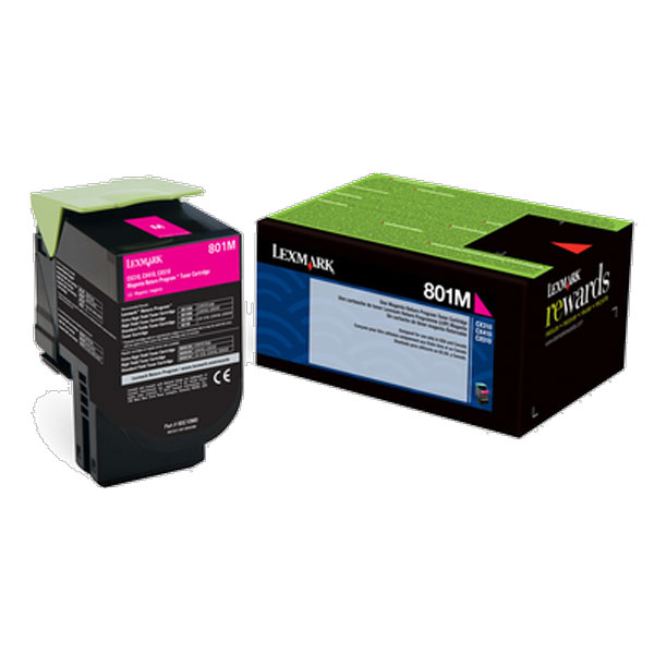 Lexmark 80C00MG Magenta Toner Cartridge for US Government