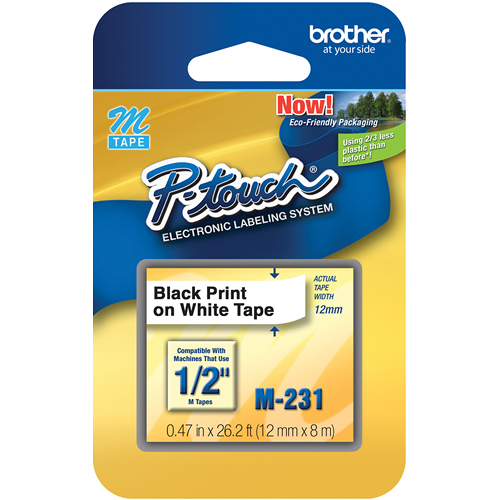 Brother M231 Tape