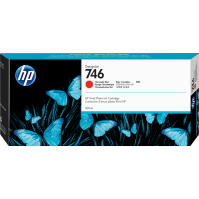 HP P2V81A Chromatic Red Ink Cartridge