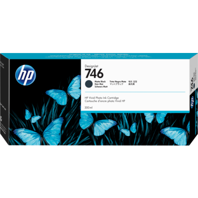 HP P2V83A Matte Black Ink Cartridge