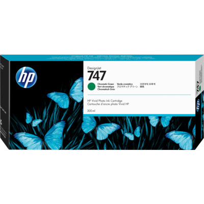 HP P2V84A Chromatic Green Ink Cartridge