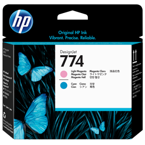 HP P2V98A Light Magenta and Light Cyan Printhead