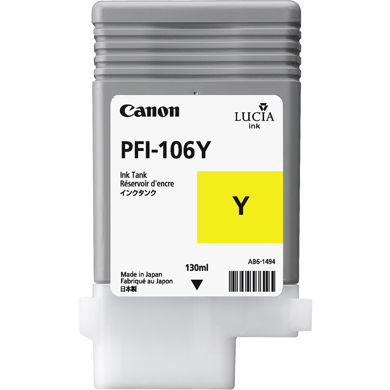 Canon PFI-106Y Yellow Ink Tank
