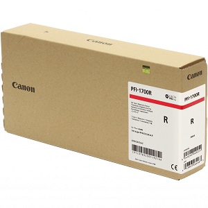 Canon PFI-1700R Red Ink Tank