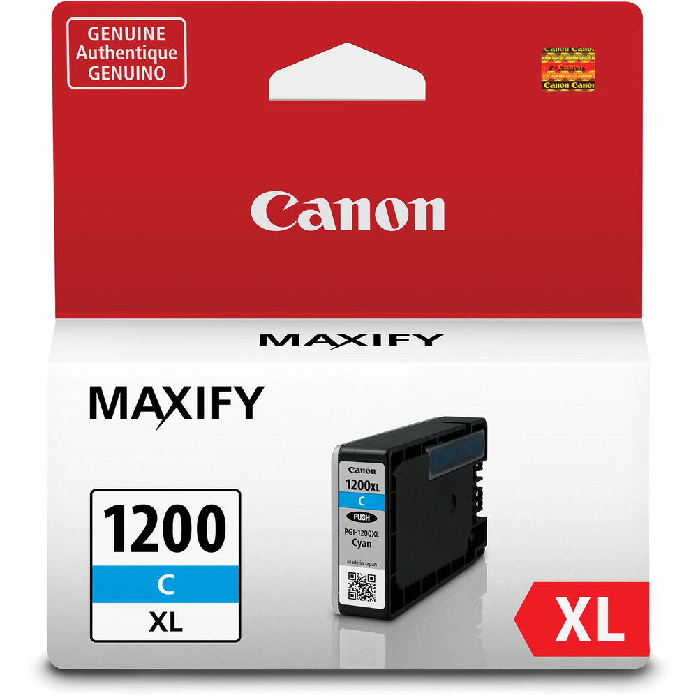 Canon PGI-1200XL Cyan Ink Cartridge