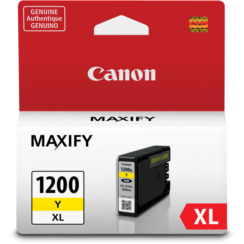 Canon PGI-1200XL Yellow Ink Cartridge